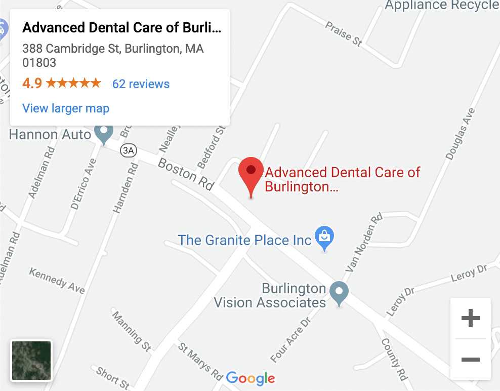 Dentist Burlington MA