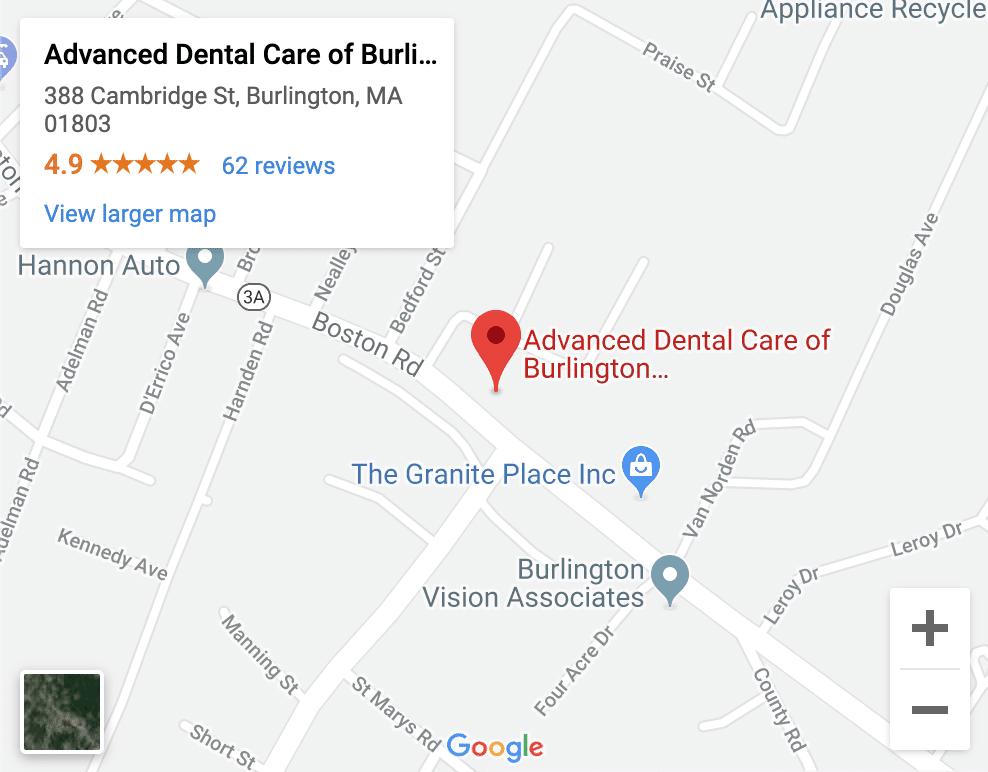 Dentist Burlington MA